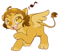 Just a Sphinx by albino-penguin