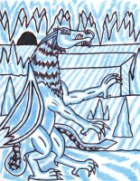 FROST DRAGONS ICE CAVE by MEWTWOSAMBASSADOR
