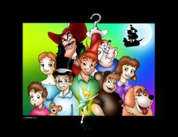 Peter Pan by fantasination