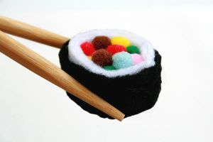 Candy Sushi by thetraumaqueen
