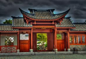 The Other side of the Main Gate (Zheng Men) by UrbanRural-Photo
