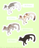 Wanna try natural color cat adopts by WhiteAntlers