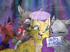 Sonnenpelz Birthday Picture! by JB-Pawstep