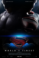 Superman-Batman / Fan made Poster [7] by erkanbahadir23