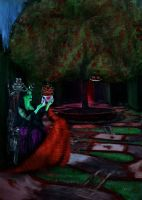 Maleficent's Triumph: Death of The Red Queen by pandorasconviction