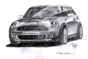 Mini Cooper S by Panthymaeus