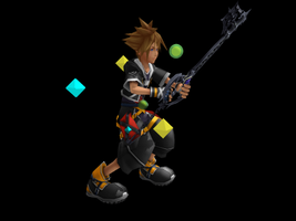 MMD Accessory Kingdom Hearts MP HP XP by M0fD