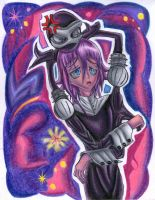 Crona and Chibi-Ragnarok by Kary--Chan