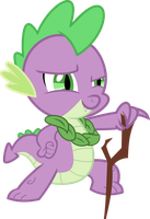 Looking Good Spike! Looking Real Good by Exbibyte