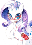 Mizz Rarity and the Art of the Dress by Jiayi