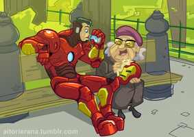 So, as I was telling you mister Stark... by TerminAitor