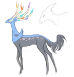Xerneasaur by Sky-Lily