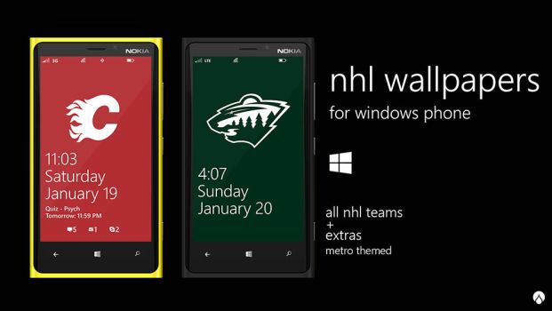 NHL Wallpapers for Windows Phone by UVSoak3d