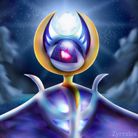 Lunala Portrait by Zyrralex