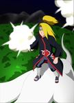 Deidara: Air Battle by SractheNinja