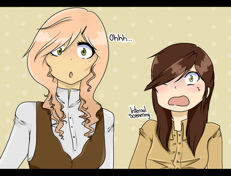 Anabelle And Keiko - AOT by Toxic-Delights