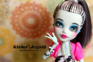 Monster High: Dance 'Til Dawn Frankie by Azyntil