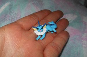 Pokemon rare Vaporeon chupa figure for sale by RakikoHime