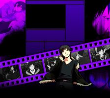 Izaya channel background by SerialKiller1313
