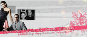 Cote De Pablo and Sean Murray by perfectsunrise