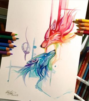 157- Fire and Ice by Lucky978