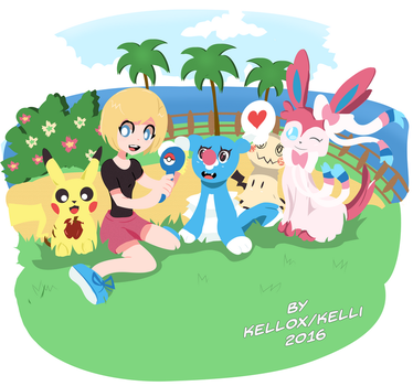 Pokemon Moon by Kell0x
