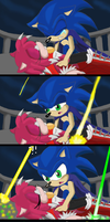 SonAmy: HatPW transformation comic strip by GothNebula