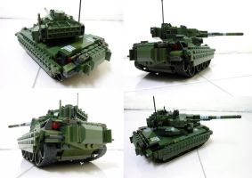 Lego Compact Tank 13.2 by SOS101