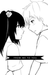MM : FROM ME TO YOU by froznkamui