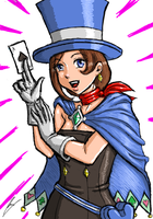 Trucy Wright by borockman