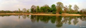 Reflections Panorama....... by BJDesai