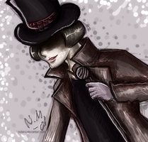 Willy Wonka by Nidarci