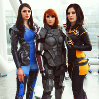 Mass Effect 3 Ladies by TashaValentine