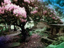 Graveyard Blossoms by CozzaCake