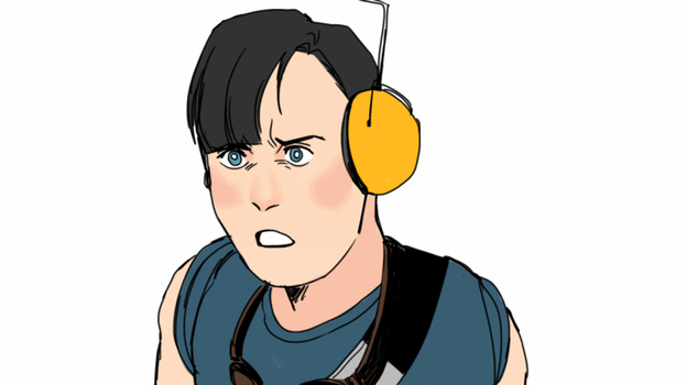 Team fortress 2 Scout OC by 35THESTRANGE