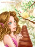 love bird for the two by Armelia