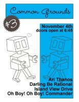 Common Grounds Nov. 4th by paperairplane