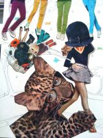 fashion collage by JOSEPHSK