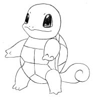 Squirtle from Pokemon by ninjakitty94
