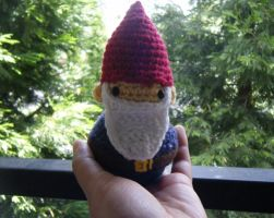 Garden Gnome Amigurumi Doll Customize Able by ChibiSayuriEtsy