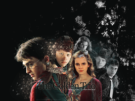The Golden Trio by survivekaleidoscope