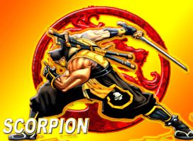 Mortal Kombat Scorpion by Chey2011senior