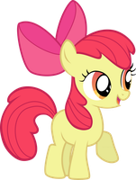 Apple Bloom by sakatagintoki117