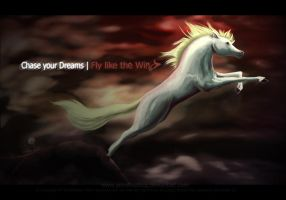 Chase your Dreams : Fly like the Wind by SemiFloating