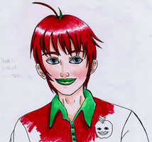 Unfinished Humanized Happy Appy by crescentshadows19