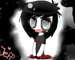 Jeff The Killer Chibi by ninjacookie6