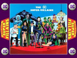 '76 Super DC Calendar - Super Villians - Apr by Superman8193
