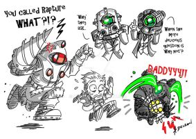 BioShock Toons by ADL-art