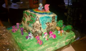 My Little Pony Cake 2 by SaneTezz