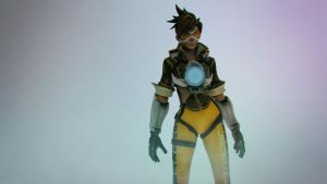 Overwatch - Tracer by Binary-Map